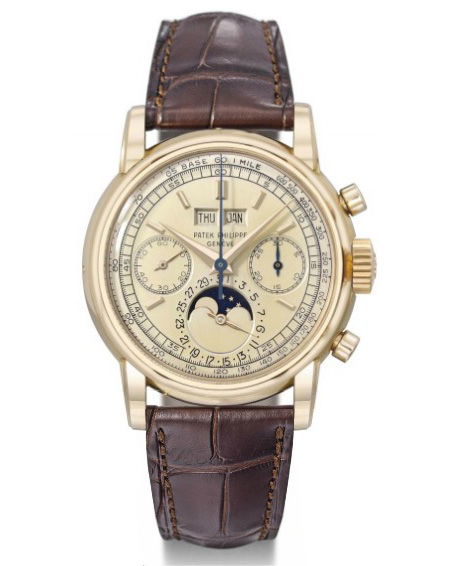Patek Philippe Ref. 2499 Pink Gold Second Series Watch