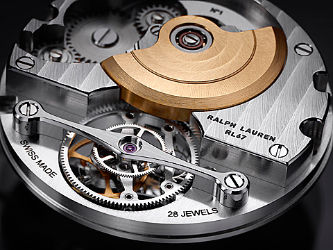 Ralph Lauren RL67 Tourbillon Mechanism