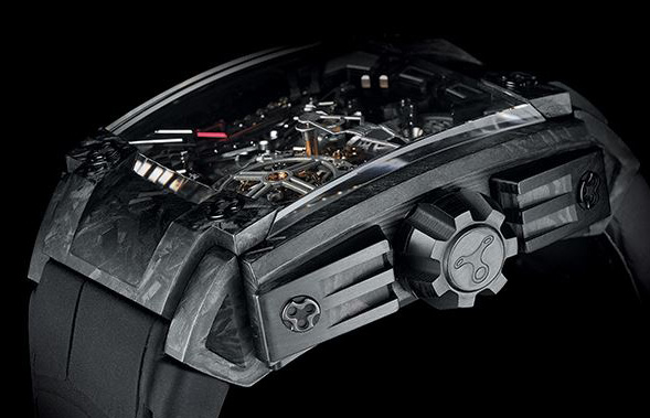 Rebellion 540 Magnum Tourbillon Watch Side