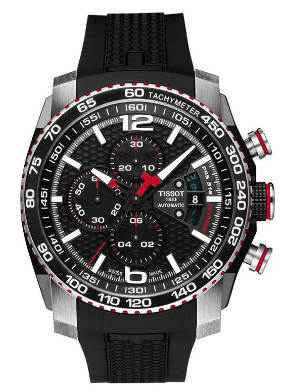 Tissot PRS 516 Extreme Chronograph Watch Front