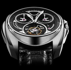 AkriviA Saturn Tourbillon Monopusher Chronograph