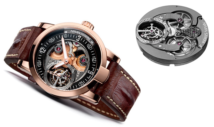Armin Strom Tourbillon Gravity Fire Watch And Movement