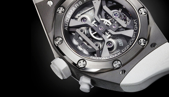 Audemars Piguet Royal Oak Concept GMT Tourbillon Watch Caseback