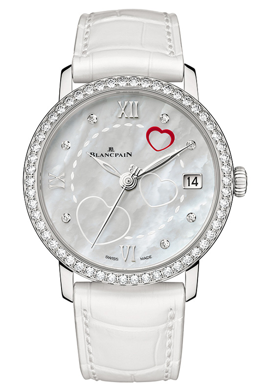 Blancpain Saint Valentine's Day 2014 Watch 6604-4654-55B