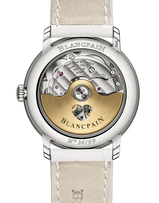 Blancpain Saint Valentine's Day 2014 Watch Back