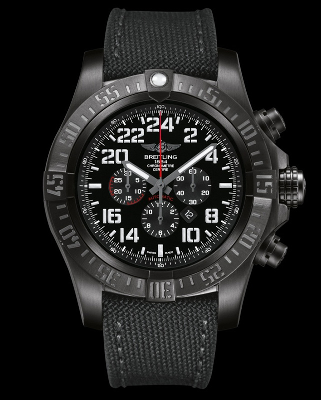 Breitling Super Avenger Military Limited Edition Watch Front