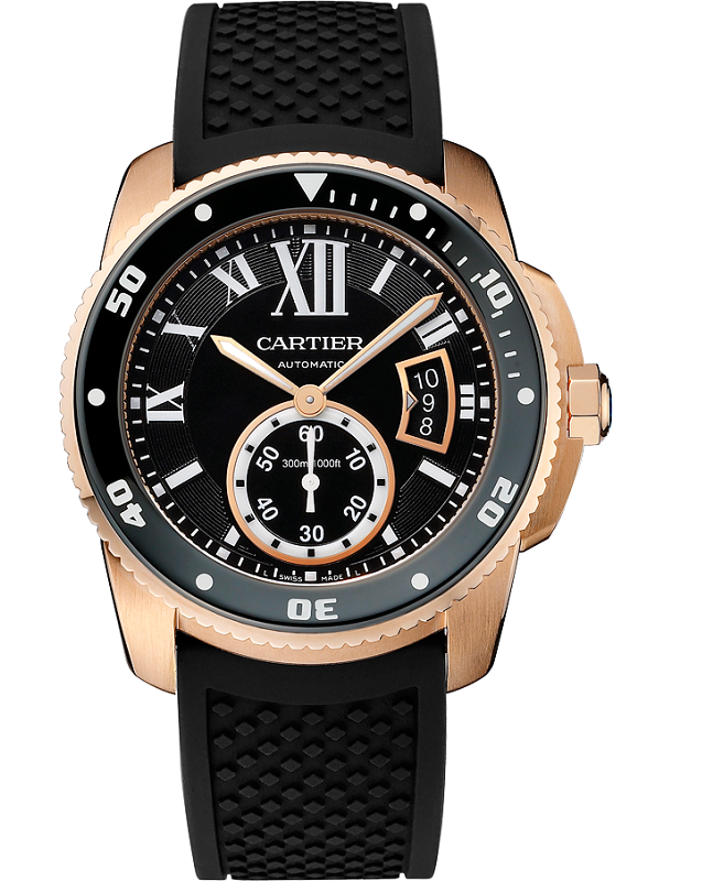 Cartier Calibre De Cartier Diver Watch Gold