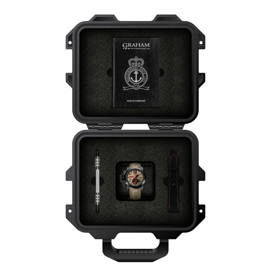 Graham Chronofighter Oversize Superlight Baja 1000 Watch Box