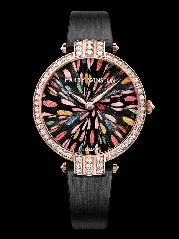 Harry Winston Premier Feathers Geneva Limited Edition Watch