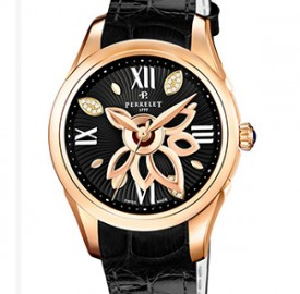 Perrelet Diamond Flower Gold Ladies' Watches