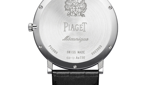 Piaget Altiplano 900P Watch Case Back