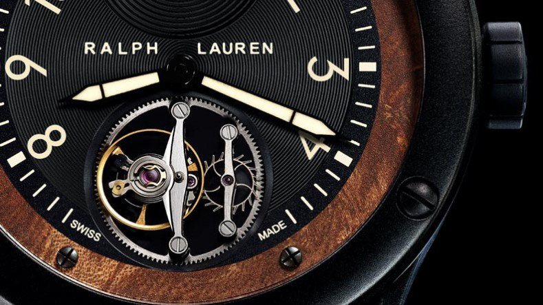 Ralph Lauren Automotive Flying Torbillon Watch Dial