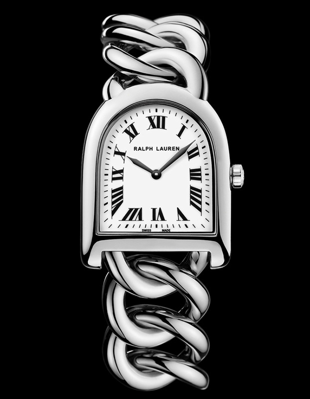 Ralph Lauren Stirrup Petite Link Watch