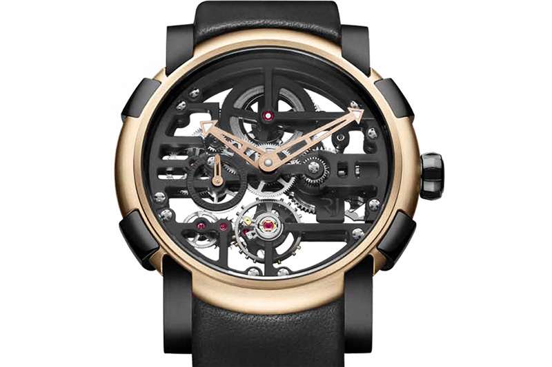Romain Jerome Skylab Skeleton RJ.M.AU.028.01 Watch