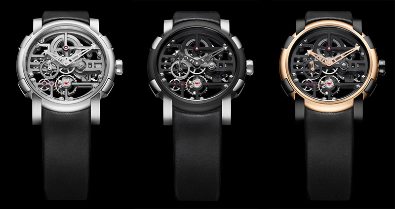 Romain Jerome Skylab Skeleton Watch