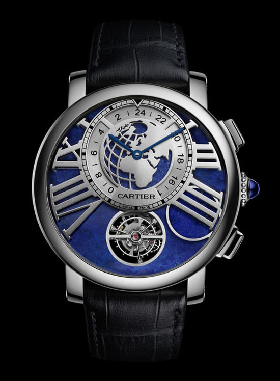 Cartier Rotonde de Cartier Earth Moon Watch