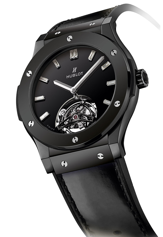 Hublot Classic Fusion Tourbillon Night-Out Watch Side