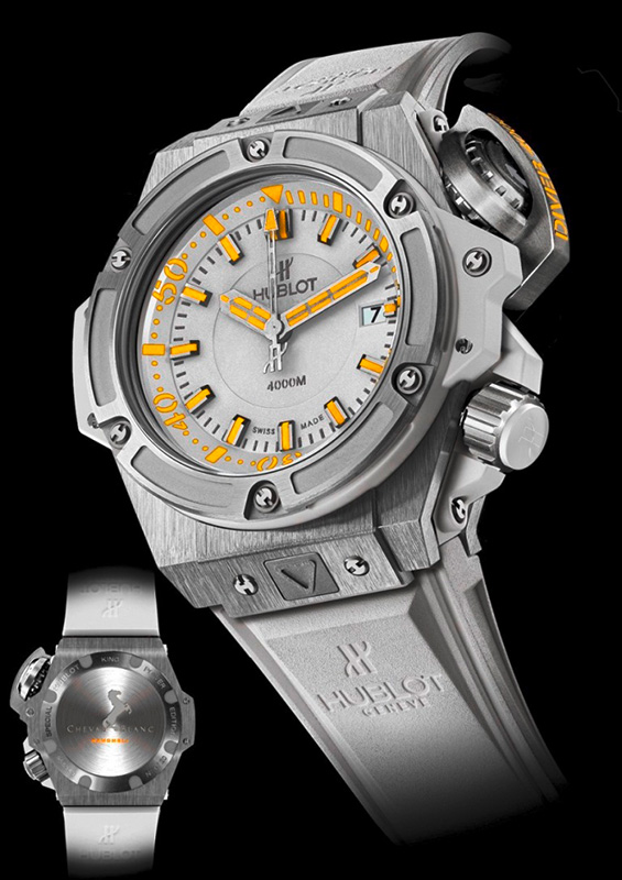 Hublot King Power Oceanographic 4000 Cheval Blanc Watch