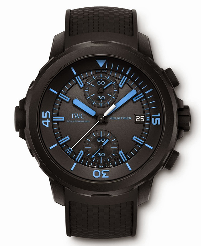 "IWC Aquatimer Chronograph Edition ""50 Years Science for Galapagos"" Watch"