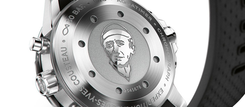 "IWC Aquatimer Chronograph Edition ""Expedition Jacques-Yves Cousteau"" Watch Case Back"