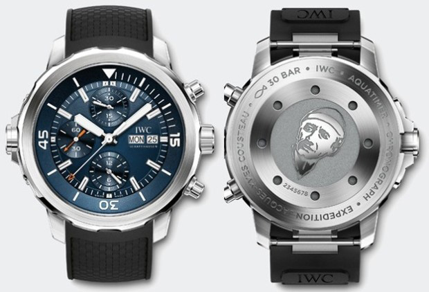 "IWC Aquatimer Chronograph Edition ""Expedition Jacques-Yves Cousteau"" Watch Case"