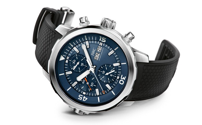 "IWC Aquatimer Chronograph Edition ""Expedition Jacques-Yves Cousteau"" Watch Front"