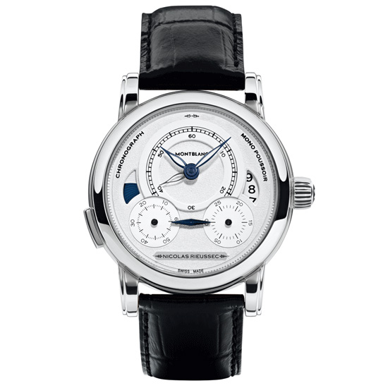 Montblanc Homage to Nicolas Rieussec Steel Watch