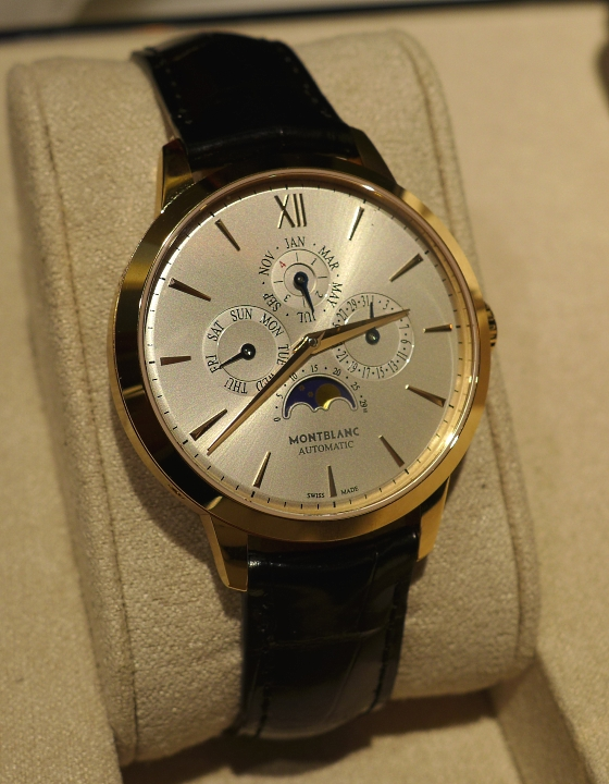 Montblanc Meisterstuck Heritage Perpetual Calendar Watch Front