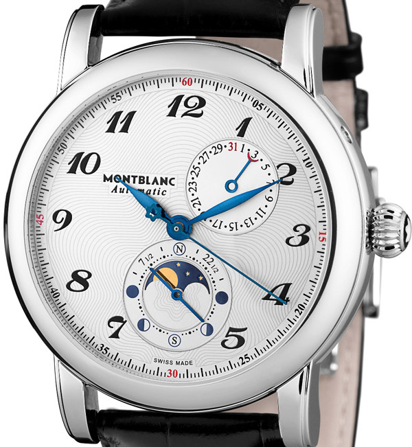 Montblanc Star Twin Moonphase Watch Dial
