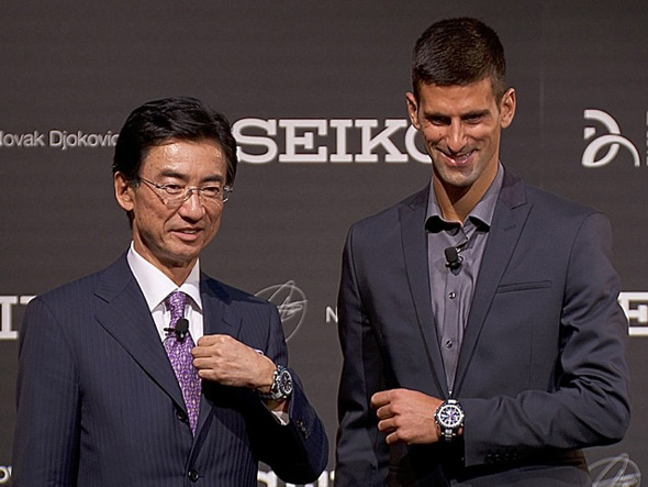 Seiko Announced Novak Djokovic As New Ambassador