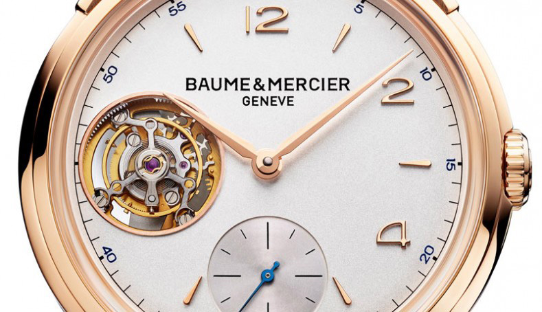 Baume & Mercier Clifton 1892 Flying Tourbillon Watch Dial