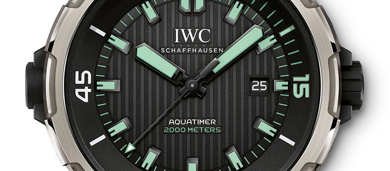 IWC Aquatimer Automatic 2000 Watch Dial