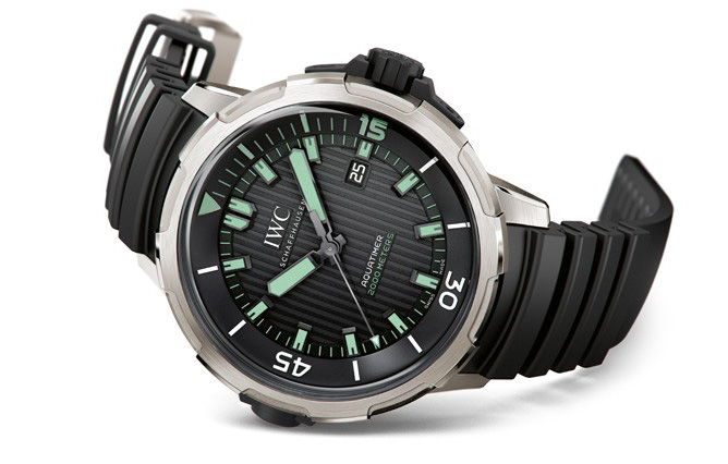 IWC Aquatimer Automatic 2000 Watch Front