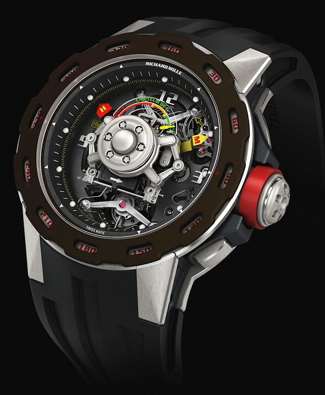 Richard Mille RM 36-01 G-Sensor Tourbillon Sabastian Loeb Watch