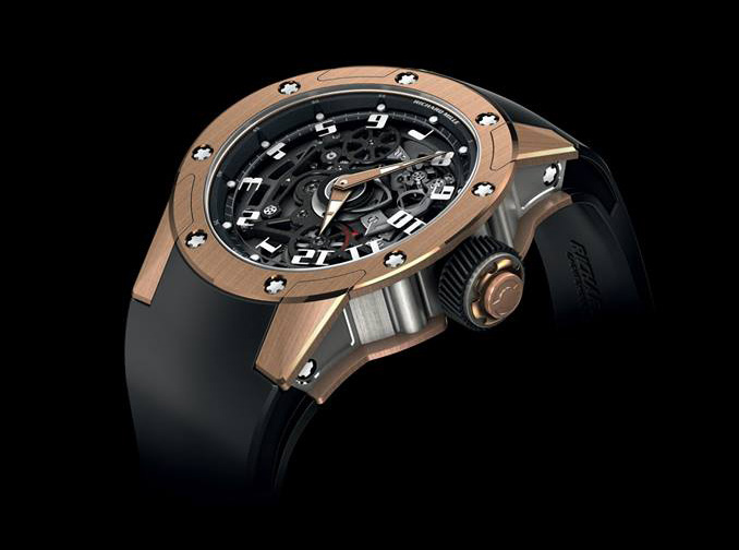 Richard Mille  RM 63-01 Dizzy Hours Watch Side