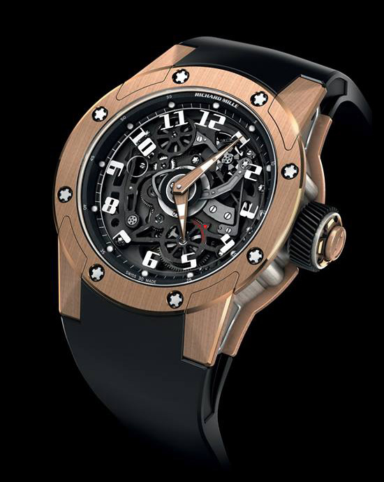 Richard Mille  RM 63-01 Dizzy Hours Watch