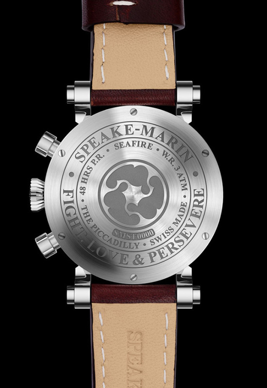 Speake-Marin Spirit Seafire Watch Case Back