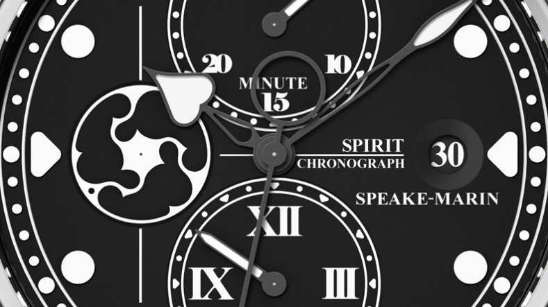 Speake-Marin Spirit Seafire Watch Dial