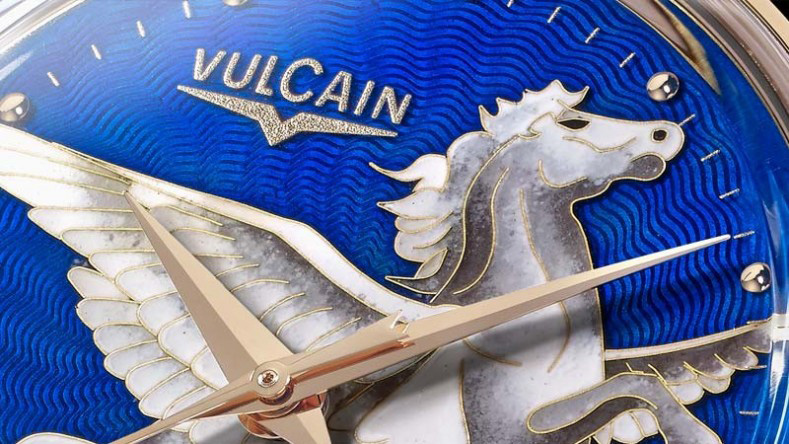 Vulcain Pegasus In The Sky Watch Dial