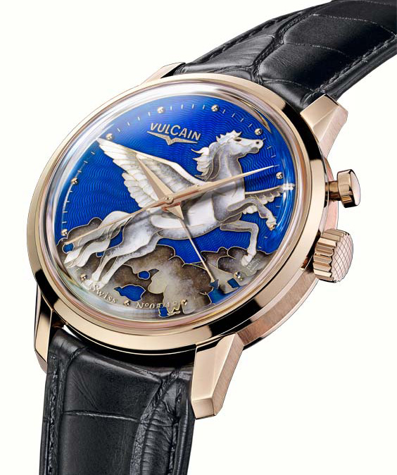 Vulcain Pegasus In The Sky Watch