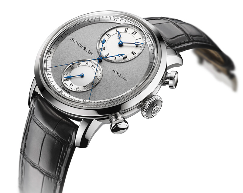 Baselworld 2014 Preview: Arnold & Son Instrument CTB Watch Side
