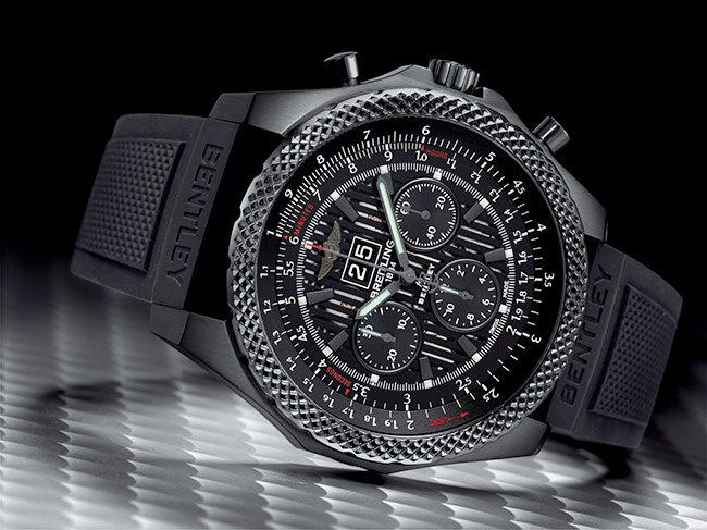 Breitling for Bentley 6.75 Midnight Carbon Watch