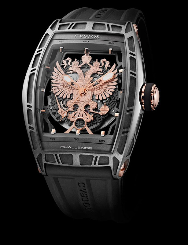 Cvstos Proud to be Russian Watch Front
