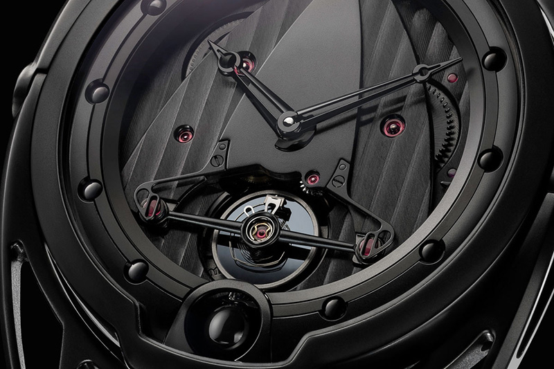 De Bethune DB28 Dark Shadow Watch Dial