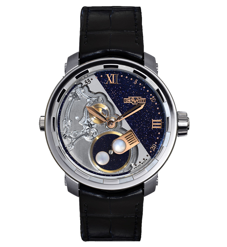 DeWitt Twenty-8-Eight Full Moon Watch Front