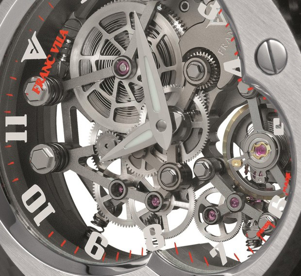 Franc Vila Manual Suspended Skeleton Watch Dial