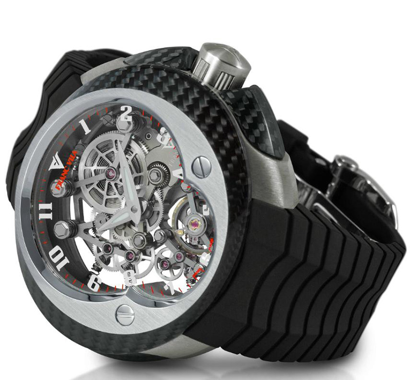 Franc Vila Manual Suspended Skeleton Watch
