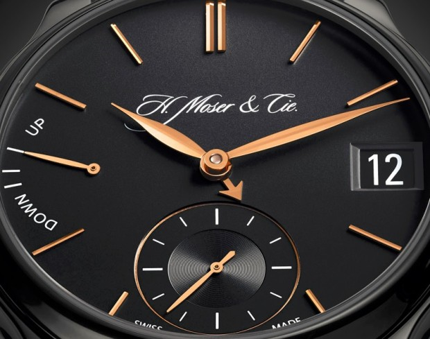 H. Moser Perpetual Calendar Black Edition Watch Dial