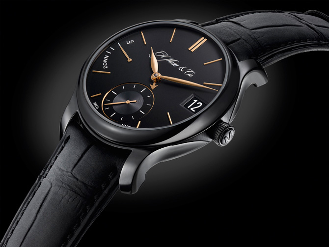 H. Moser Perpetual Calendar Black Edition Watch