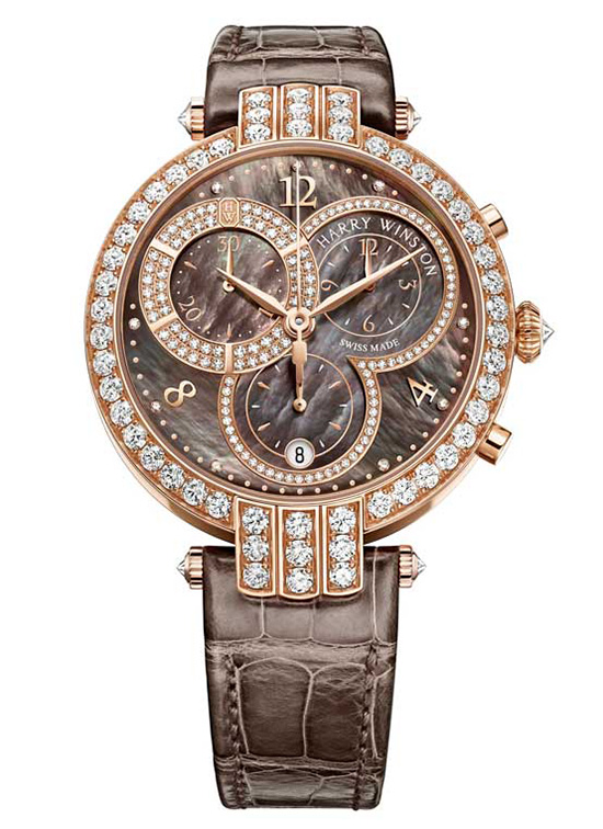 Harry Winston Premier Chronograph 40mm Watch Front